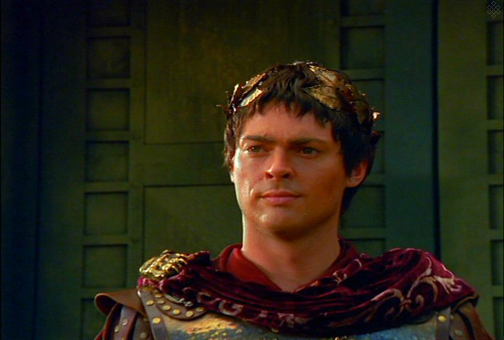 Karl Urban as Julius Caesar in Xena  When Fates CollideKarl Urban Caesar